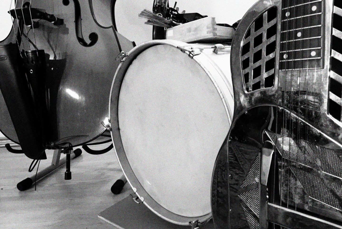 Bass, Drums & Tricone